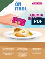 Boletín N° 46 Anemia infantil