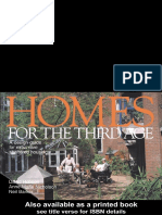 David Robson Homes for the Third Age a Design Guide for Extra Care Sheltered Housing