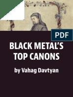 Black Metal's New Canon's