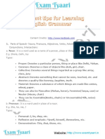Important Tips for Learning English Grammar - Exam Tyaari.pdf
