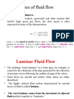 Flow of Fluid