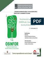 Procedimiento Supervision Osinfor