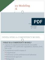Competency Modeling Framework