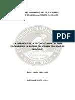 Escenario Del Crimen (tesis)