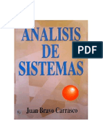 Juan Bravo Carrasco. Analisis de Sistemas