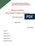 Cálculo Integral - Rgarcia
