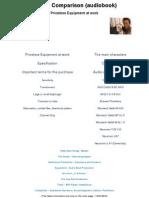 Device Comparison (Audiobook - 18.07.2010)