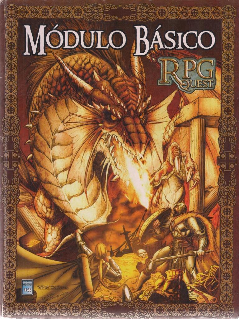 731f0ff71c0710 RPGQuest - Modulo Basico.pdf | Jogos de RPG | Religião e Crença
