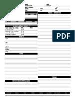 Ficha de NPC