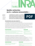 INRA Carbone Renouvelable