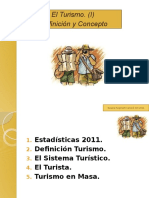 Elturismo Definicion y concepto