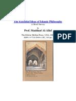Extrait Mashhad Al-Allaf Al-Ghazali on Meta-Philosophy and His Journey for the Truth