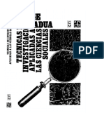 Padua Jorge Tecnicas de Investigacion Aplicadas a Las Ciencias Sociales FCE Me Xico 2004-1979 Con Notas