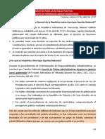 Documento del Psuv sobre inhabilitación de Capriles