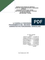 Querella Funcionarial 20-04-2016 PDF