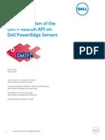 Dell PowerEdge Redfish API Overview