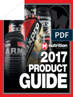 2017 Max Muscle Product Guide