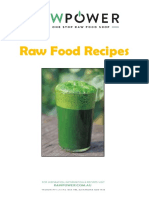 Free Raw Power Recipe Book