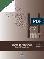 Marco de referencia Historia 3° Excale