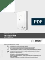 Manual de Usuario Therm 1000F 10L y 12L CO