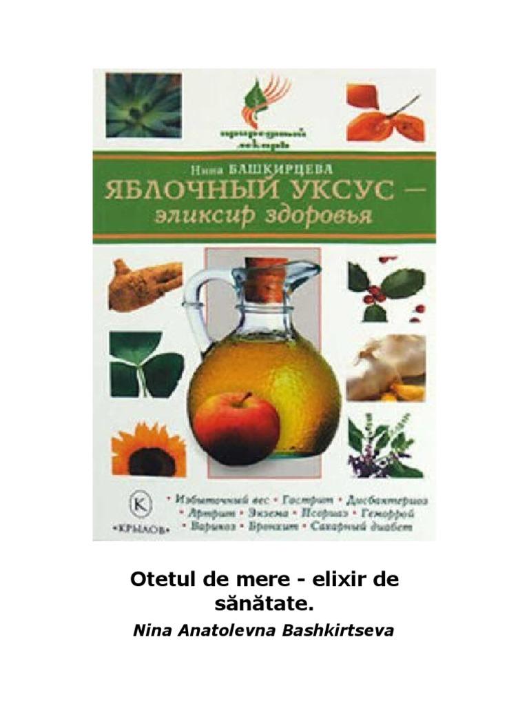 frecarea otetului de mere pentru varice