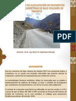 05 EDWIN APOLONARIO Metodología de Auscultación de Pavimentos Aplicado en Carreteras de Bajo Volumen.pdf