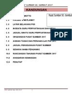 Buku Pengurusan Pss Skgembut 2017
