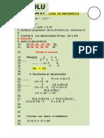 Examen Solo Fila 1