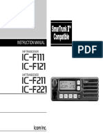 IC-F111 F121 F211 F221 Instruction Manual