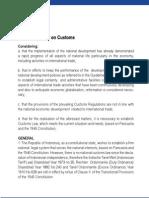 Indonesia Customs Law