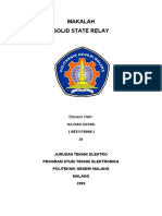 Cover Solid State Relay