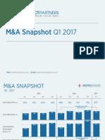 AP Q1 2017 M&A Snapshot FINAL