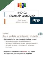 Capitulo 2 - Factores ingenieria económica