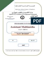 Programme d'Etudes Assistant Multimédia