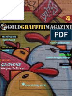 GOLD Graffiti Magazine, No. 4