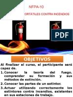 Capacitación Manejo de Extintores