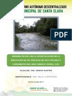 Informe Técnico de La Autoevaluación de La Prestación de Los Servicios de Agua Potable y Saneamiento2017
