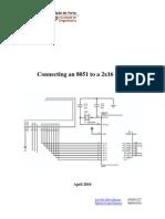 Microcontroller and LCD interfacing