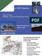 CREZ Reactive Study Summary.pdf