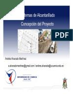 2.- Sistemas de Alcantarillado - 1- Concepción Del Proyecto