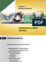 Mesh-Intro 14.5 L04 Meshing Methods