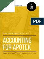 Accounting for Apotek Volume 1