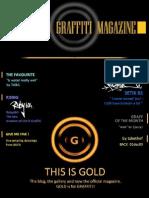 GOLD Graffiti Magazine, No.1