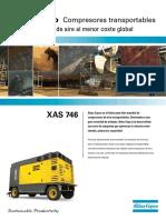 COMPRESOR XAS-746