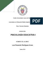 Reporte de Lectura Constructivismo y Aprendizage Significativo