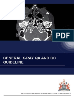 General X-ray QA and QC Guideline