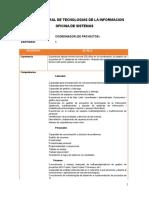 Perfil Coord. Proyectos 060716