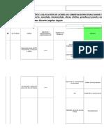 10 Iperc Habilitacion y Colocacion de Acero de Cimentaciones Para Bases de Equipos de Patio de Llaves
