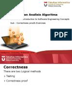 Lecture 1 Latihan Correctness