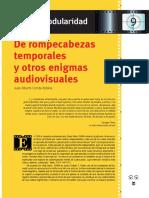 Conde Juan Alberto - Cine y Modularidad - La Tadeo